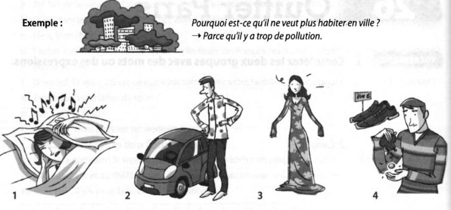 Задания к 31 уроку Quitter Paris